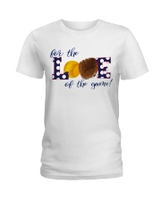 For the love of the game Ladies T-Shirt front