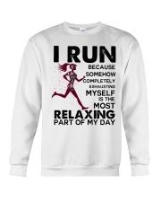 I run Crewneck Sweatshirt thumbnail