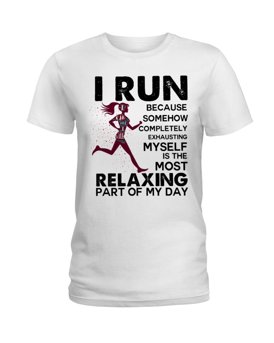 I run Ladies T-Shirt
