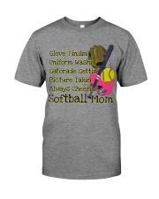 Softball mom Premium Fit Mens Tee thumbnail