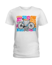 Cycling Ladies T-Shirt front