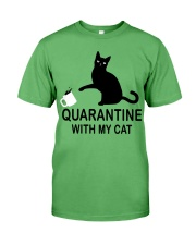 Quarantine with my cat Premium Fit Mens Tee thumbnail