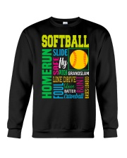 Softball Crewneck Sweatshirt thumbnail