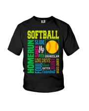 Softball Youth T-Shirt thumbnail