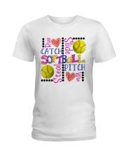 Softball Ladies T-Shirt front