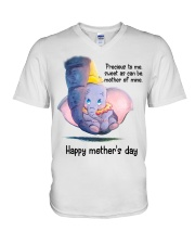 Happy mother's day V-Neck T-Shirt thumbnail