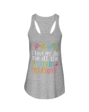 I love my job for all the little reasons Ladies Flowy Tank thumbnail