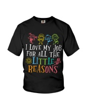 I love my job for all the little reasons Youth T-Shirt thumbnail