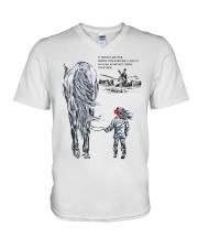 Horse lovers V-Neck T-Shirt thumbnail