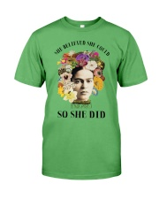 She believed she could so she did Premium Fit Mens Tee thumbnail