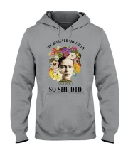 She believed she could so she did Hooded Sweatshirt thumbnail