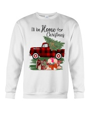 I'll be home for christmas Crewneck Sweatshirt thumbnail