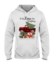 I'll be home for christmas Hooded Sweatshirt thumbnail