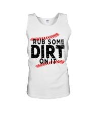Rub some dirt on it Unisex Tank thumbnail