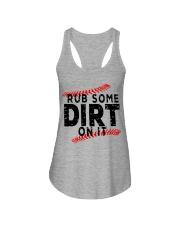 Rub some dirt on it Ladies Flowy Tank thumbnail