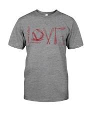 Love softball Premium Fit Mens Tee thumbnail