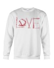 Love softball Crewneck Sweatshirt thumbnail