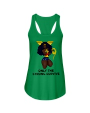 Only the strong survive Ladies Flowy Tank thumbnail