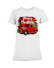 Merry christmas Premium Fit Ladies Tee tile