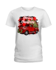 Merry christmas Ladies T-Shirt tile