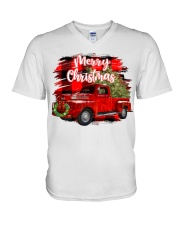 Merry christmas V-Neck T-Shirt thumbnail