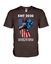 EMT 2020 V-Neck T-Shirt thumbnail