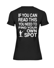if you can read this you need Premium Fit Ladies Tee thumbnail