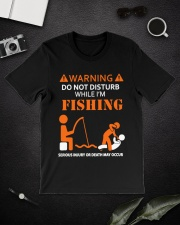 Warning Fishing Classic T-Shirt lifestyle-mens-crewneck-front-16