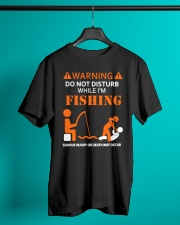 Warning Fishing Classic T-Shirt lifestyle-mens-crewneck-front-3
