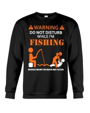 Warning Fishing Crewneck Sweatshirt tile