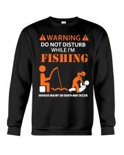 Warning Fishing Crewneck Sweatshirt thumbnail