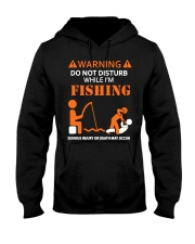Warning Fishing Hooded Sweatshirt tile