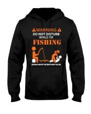 Warning Fishing Hooded Sweatshirt thumbnail
