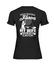 After All These Years Of Fishing Premium Fit Ladies Tee thumbnail