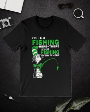 Fishing Everyhwere Classic T-Shirt lifestyle-mens-crewneck-front-16