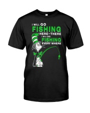 Fishing Everyhwere Premium Fit Mens Tee thumbnail