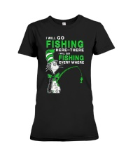 Fishing Everyhwere Premium Fit Ladies Tee thumbnail