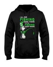 Fishing Everyhwere Hooded Sweatshirt thumbnail