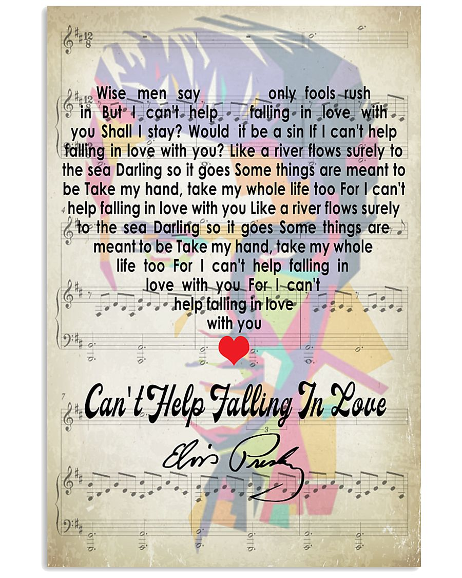 Cant Help Falling In Love - Elvis Presley 11x17 Poster