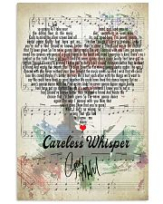 Careless Whisper - George Michael 11x17 Poster front
