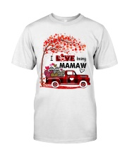 I love being mamaw gift Classic T-Shirt tile
