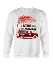 I love being mamaw gift Crewneck Sweatshirt tile