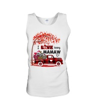 I love being mamaw gift Unisex Tank tile