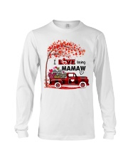 I love being mamaw gift Long Sleeve Tee tile
