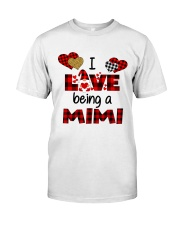 I Love Being A mimi Gnomie gift Classic T-Shirt tile