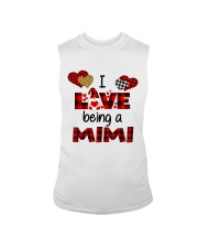 I Love Being A mimi Gnomie gift Sleeveless Tee tile