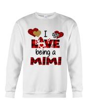 I Love Being A mimi Gnomie gift Crewneck Sweatshirt tile