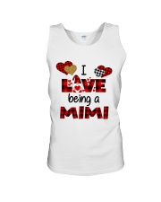 I Love Being A mimi Gnomie gift Unisex Tank tile