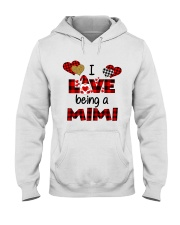 I Love Being A mimi Gnomie gift Hooded Sweatshirt tile