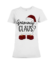 Grammy Claus christmas 2020 Premium Fit Ladies Tee tile